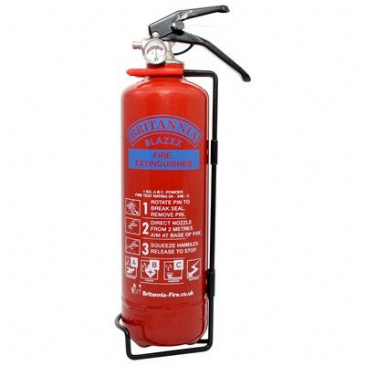 BLAZEX Fire Extinguisher 1KG DRY POWDER MODEL 1000 DP